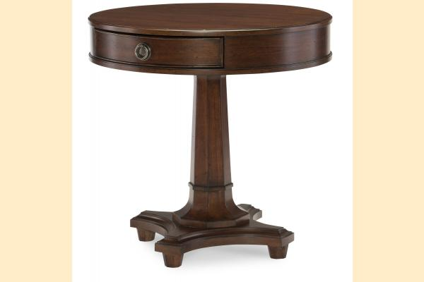 Legacy Upstate Round Lamp Table
