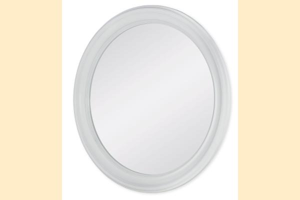 Legacy Upstate Round Mirror-Bianco