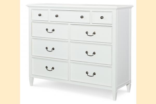 Legacy Upstate Media Chest-Bianco