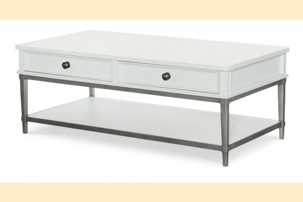 Legacy Upstate Cocktail Table-Bianco