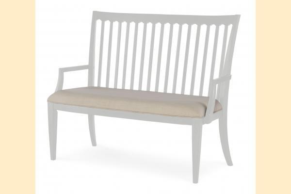 Legacy Upstate Dining Bench-Bianco