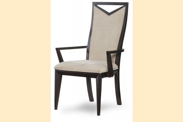 Legacy Urban Rhythm Wood Back Arm Chair
