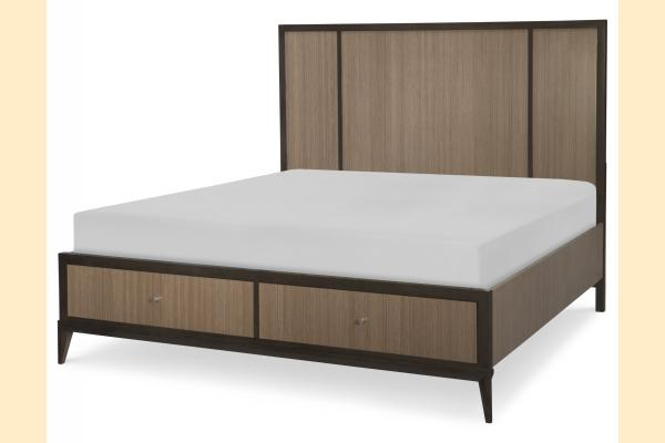 Legacy Urban Rhythm Cal-King Storage Panel Bed