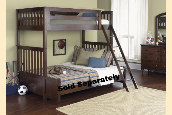 Liberty Abbott Ridge Youth Twin Over Twin Bunk Bed
