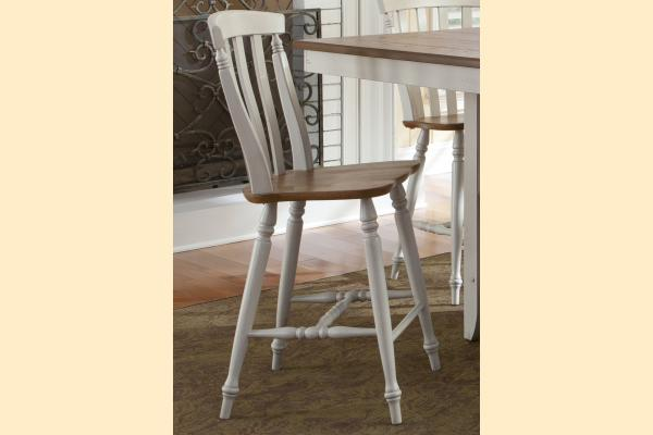 Liberty Al Fresco III Slat Back Counter Chair