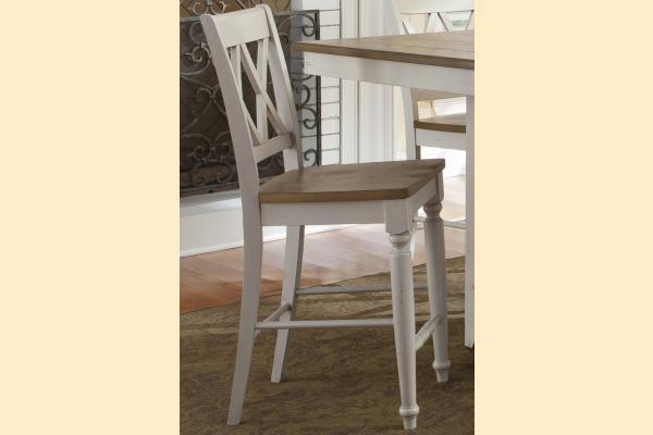 Liberty Al Fresco III Double X Back Side Chair