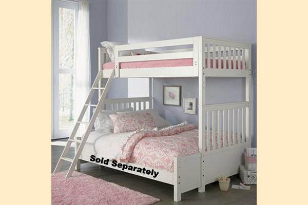 Liberty Arielle Youth Twin Over Twin Bunk Bed