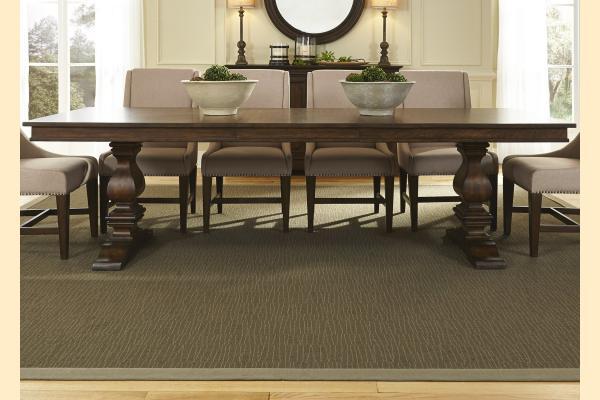 Liberty Armand Trestle Table w/ One 24 Inch Leaf