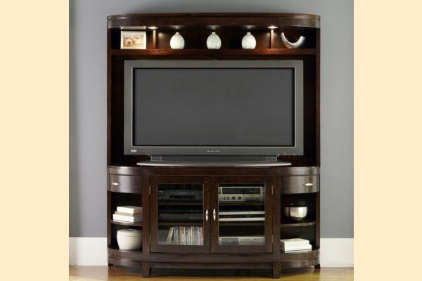 Liberty Avalon Entertainment TV Stand and Hutch