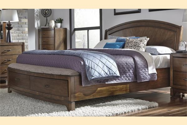 Liberty Avalon III King Panel Storage Bed