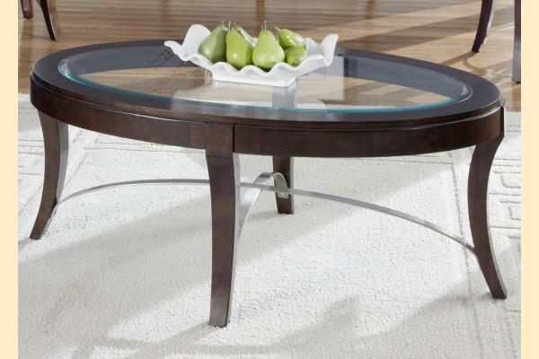 Liberty Avalon Occasional Oval Cocktail Table
