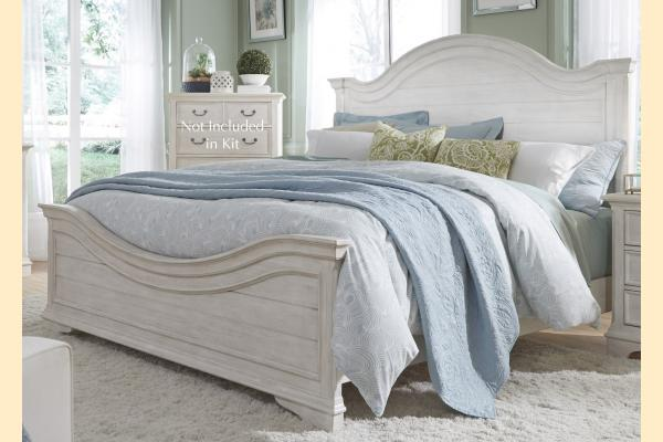 Liberty Bayside King Arched Panel Bed