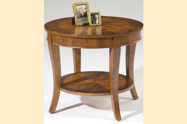 Liberty Bradshaw Round End Table