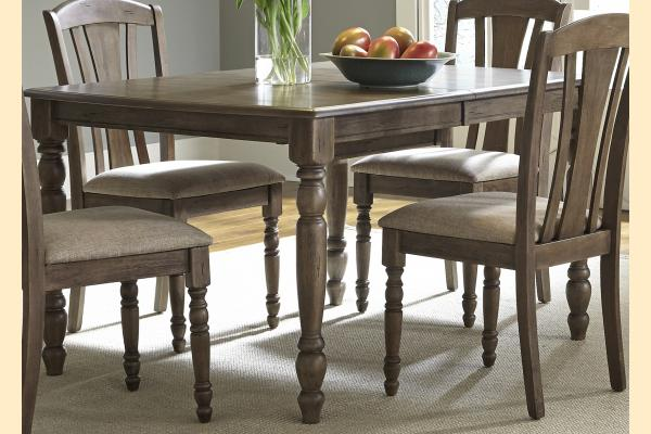 Liberty Candlewood Rectangular Leg Table w/ 1 18 Inch Butterfly Leaf