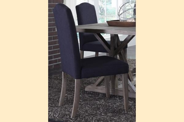 Liberty Carolina Lakes Upholstered Side Chair-Charcoal