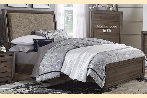 Liberty Clarksdale King Upholstered Bed