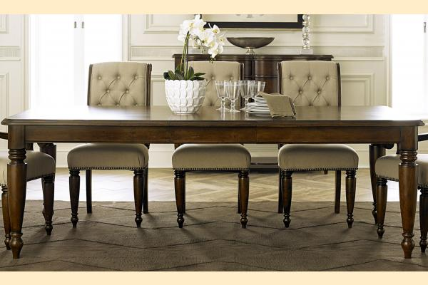 Liberty Cotswold Rectangular Leg Table w/ 1 18 Inch Butterfly Leaf