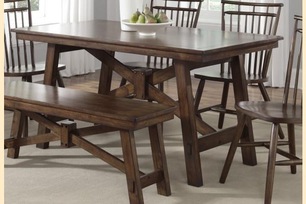 Liberty Creations II Rectangluar Leg Table