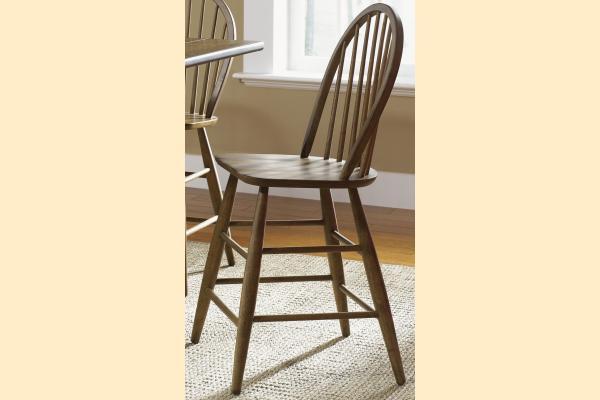 Liberty Farmhouse Windsor Back Counter Chair
