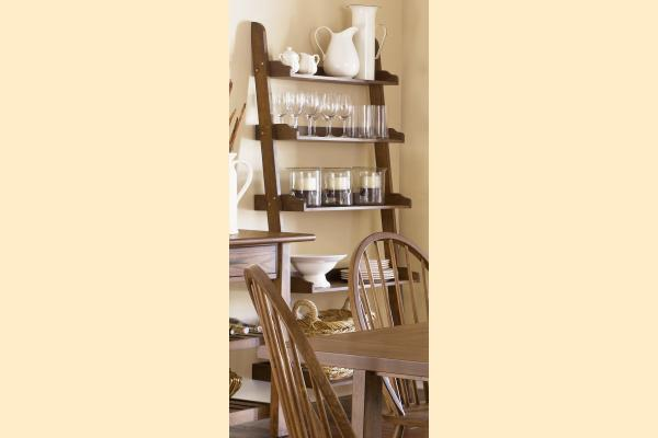 Liberty Farmhouse Leaning Bookcase