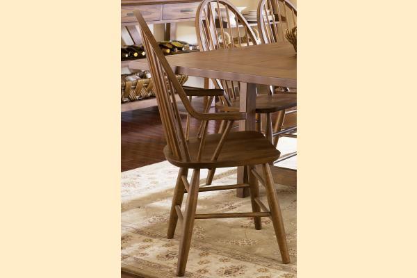 Liberty Farmhouse Windsor Back Arm Chair