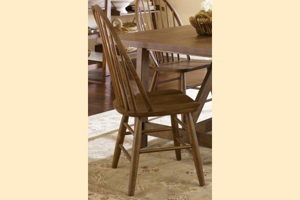 Liberty Farmhouse Windsor Back Side Chair