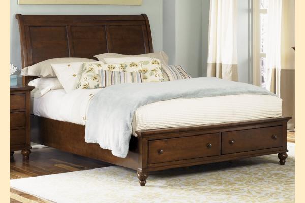 Liberty Hamilton Queen Storage Bed