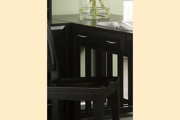 Liberty Hampton Bay Office-Black Corner Filler