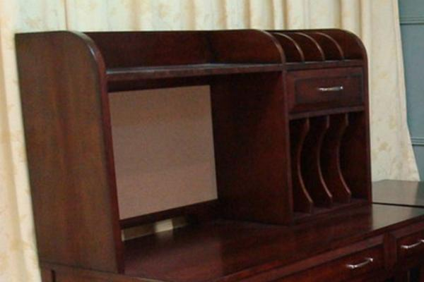Liberty Hampton Bay Office-Cherry Writing Desk Hutch