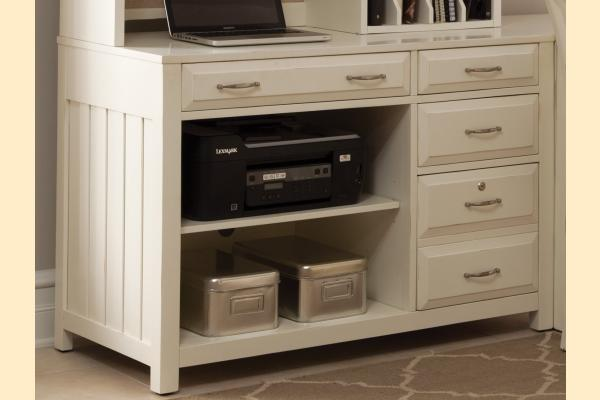 Liberty Hampton Bay Office-White Computer Credenza