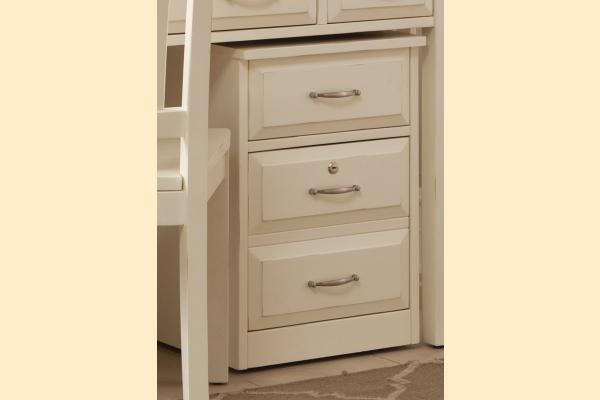 Liberty Hampton Bay Office-White Mobile File Cabinet