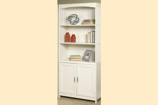 Liberty Hampton Bay Office-White Door Bookcase