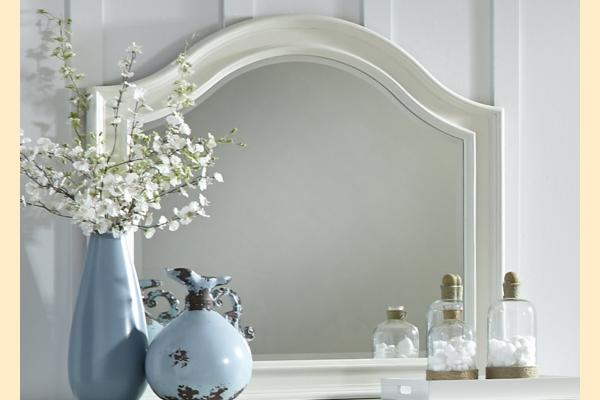 Liberty Harbor View II Arched Mirror