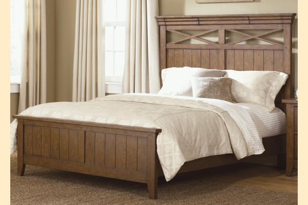 Liberty Hearthstone King Panel Bed