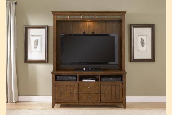 Liberty Hearthstone TV Stand with Hutch