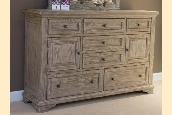 Liberty Highlands 7 Drawer 2 Door Dresser