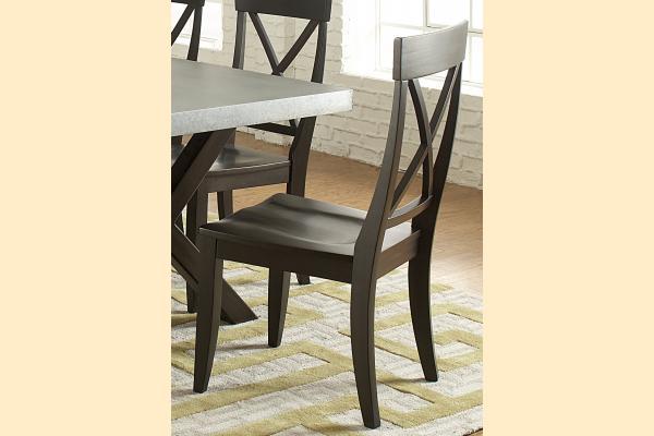 Liberty Keaton II Casual Dining X-Back Side Chair