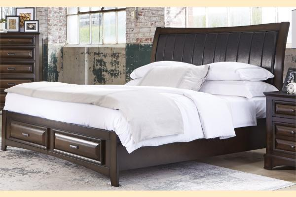 Liberty Knollwood King Storage Bed