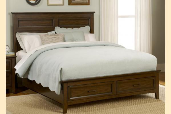 Liberty Laurel Creek King Storage Bed