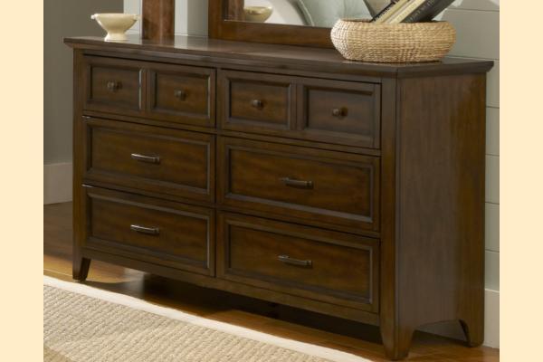 Liberty Laurel Creek Six Drawer Dresser