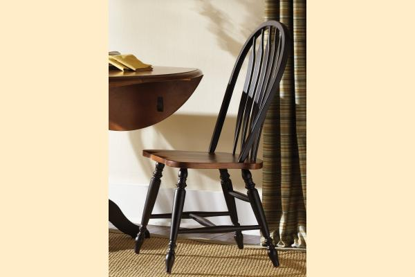 Liberty Low Country Dining-Black Windsor Back Side Chair