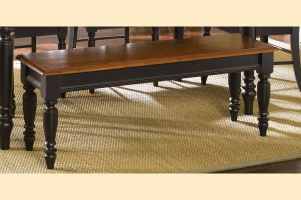 Liberty Low Country Dining-Black Bench