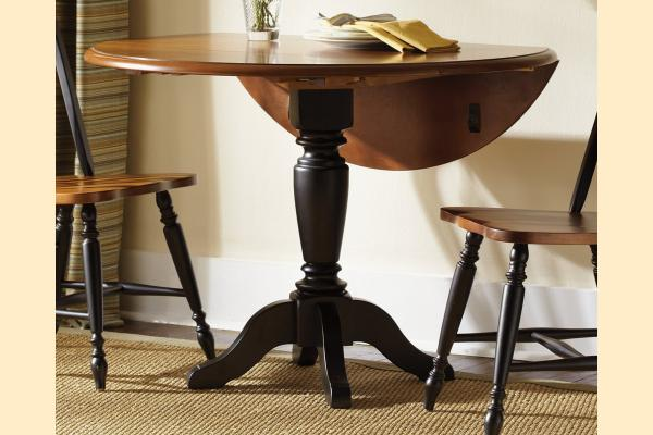 Liberty Low Country Dining-Black Drop Leaf Table w/  2 11 Inch Drop Leaves