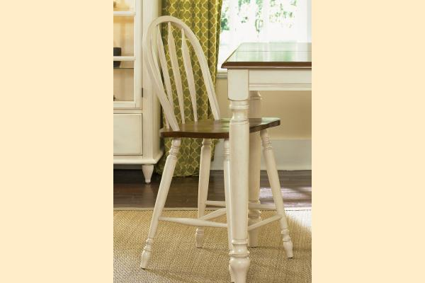 Liberty Low Country Dining-Sand Windsor Back Barstool