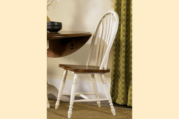 Liberty Low Country Dining-Sand Windsor Back Side Chair