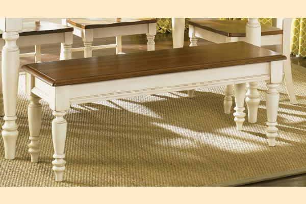 Liberty Low Country Dining-Sand Bench