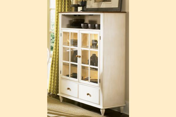 Liberty Low Country Dining-Sand Curio Cabinet