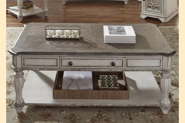 Liberty Magnolia Manor Rectangular Cocktail Table