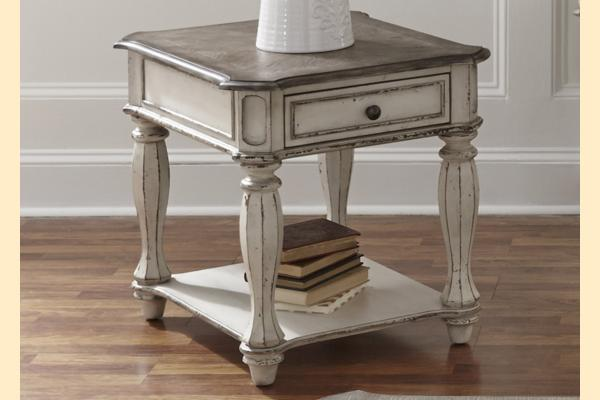 Liberty Magnolia Manor End Table
