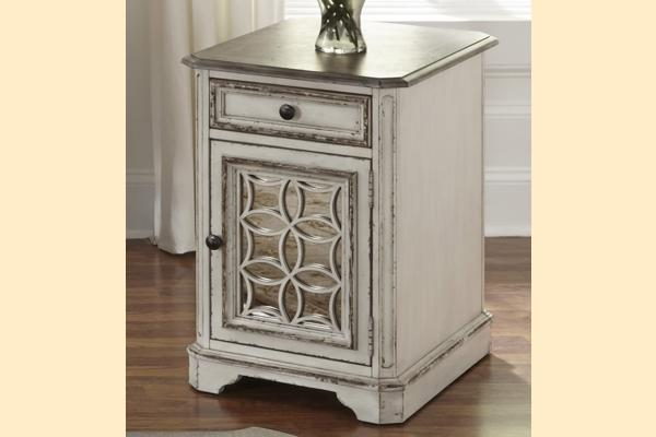 Liberty Magnolia Manor Chair Side Table